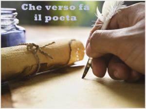Che verso fa il poeta- Letturabbraccio @ Biblioteca Comunale Francesco Inverni